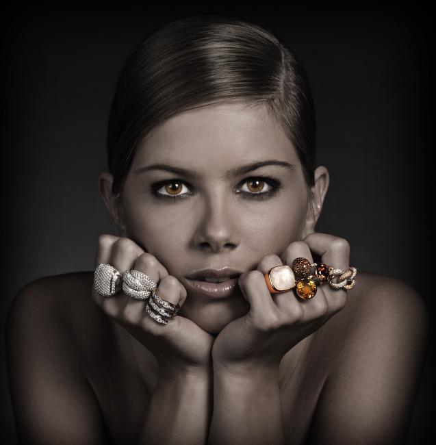 studio fotografie model juwelen