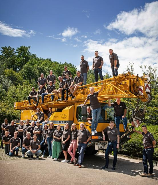 groepsfoto teamfoto Peremans Brussel
