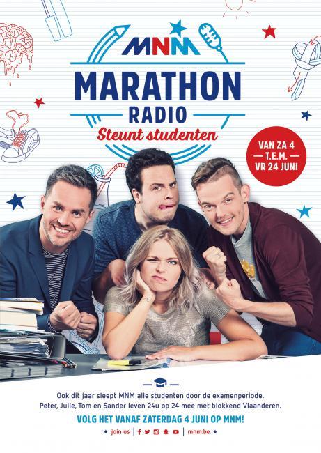 MNM marathonradio campagnebeeld Make Lemonade