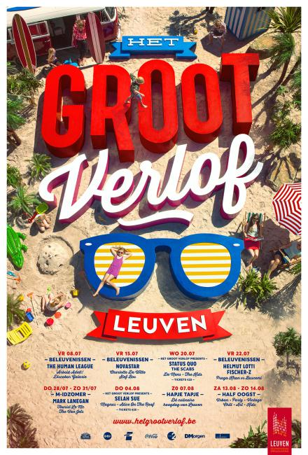 foto campagne Groot Verlof Leuven