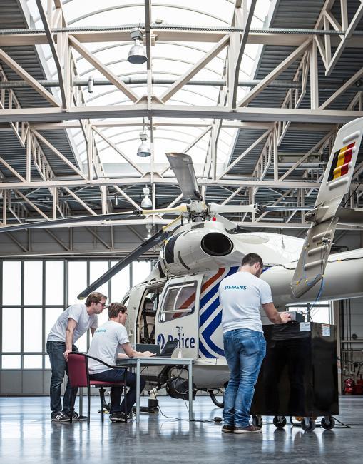 photoshoot Siemens fotografie bedrijf