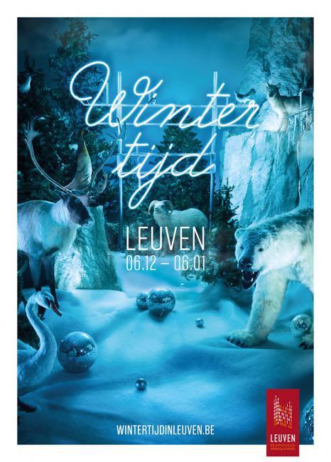 Shooting Wintertijd Stad Leuven fotograaf fotografie